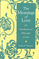 The Meanings of Love Book PDF