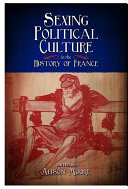 Pdf Sexing Political Culture in the History of France Telecharger