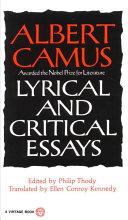 Lyrical and Critical Essays