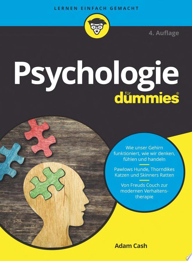 Psychologie f  r Dummies