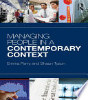 Managing People in a Contemporary Context