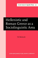 Hellenistic and Roman Greece as a Sociolinguistic Area