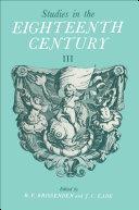 Pdf Studies in the Eighteenth Century III Telecharger