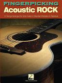 Fingerpicking Acoustic Rock (Songbook)