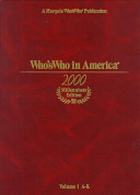 Who S Who In America 2000