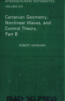 Cartanian Geometry, Nonlinear Waves, and Control Theory
