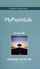 Psychology and Life Mypsychlab Access Code