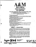 A M Records Discography