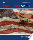 The American Spirit United States History As Seen By Contemporaries Book