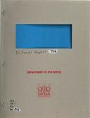 OSU Statistics Technical Report Book