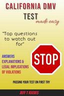 California DMV Test  Made Easy for California DMV
