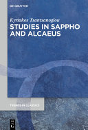 Studies in Sappho and Alcaeus Pdf/ePub eBook