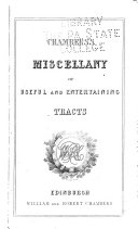 Chamber's Miscellany of Instructive & Entertaining Tracts