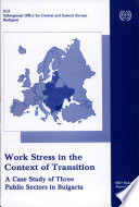 Work Stress in the Context of Transition