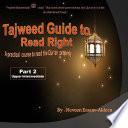 Tajweed Guide To Read Right,Part 2 Upper Intermediate