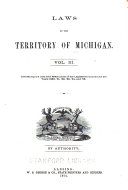 Laws of the Territory of Michigan