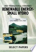 Renewable Energy   Small Hydro