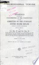 Congressional Tenure Book