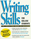 Writing Skills for College Students