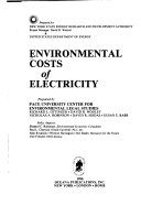 Environmental Costs of Electricity Book