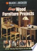 Easy Wood Furniture Projects