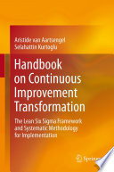Handbook on Continuous Improvement Transformation