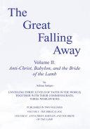 Pdf The Great Falling Away Volume II Telecharger