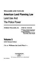 Williams American Planning Law