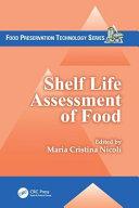 Shelf Life Assessment of Food Book