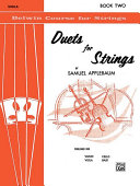 Pdf Duets for Strings, Book II Telecharger