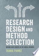 Research Design   Method Selection