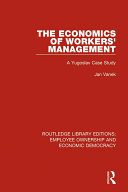Pdf The Economics of Workers' Management Telecharger