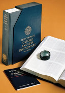 The Compact Oxford English Dictionary Book