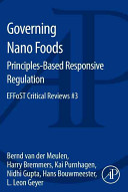 Governing Nano Foods