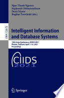 Intelligent Information and Database Systems Book