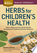 Herbs For Children S Health Book