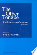 The Other Tongue, English Across Cultures by Braj B. Kachru PDF