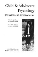Child   Adolescent Psychology