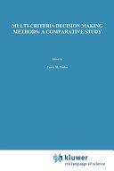 Multi criteria Decision Making Methods