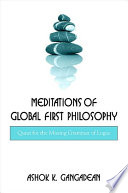 Meditations of Global First Philosophy