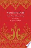 Name Me a Word Book