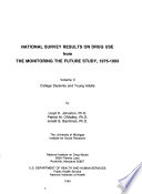 National Survey Results On Drug Use From The Monitoring The Future Study Book PDF