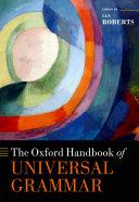 The Oxford Handbook of Universal Grammar Pdf/ePub eBook