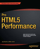 Pro HTML5 Performance [Pdf/ePub] eBook