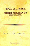 Book of Jasher Referred to in Joshua and Second Samuel ebook