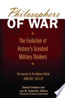 Philosophers Of War
