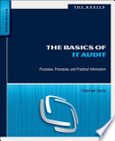 The Basics of IT Audit Book