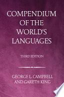 Compendium Of The World S Languages