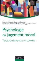Pdf Psychologie du jugement moral Telecharger
