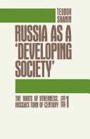 Russia as a Developing Society